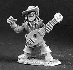 Male Gnome Bard by Reaper Miniatures 03107