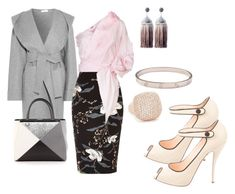 """""""Untitled #1185"""" by deirdre35 ❤ liked on Polyvore featuring Casasola, River Island, Johanna Ortiz, Fendi, Cartier, Bronzallure and Christian Louboutin"""