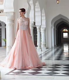 Bridal Lengha-i dont know how or who would wear this but it's so beautiful.