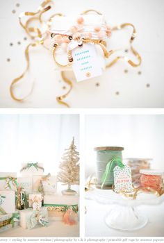 Color Crush: Metallic +Melon - Home - Creature Comforts - daily inspiration, style, diy projects + freebies