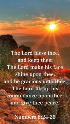 民数記6:27ー彼らがわたしの名でイスラエル人のために祈るなら、わたしは彼らを祝福しよう。