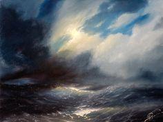 night sea (etude) by hitforsa on deviantART