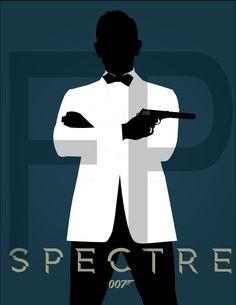 James Bond Spectre Poster by Finnland101.deviantart.com on @DeviantArt