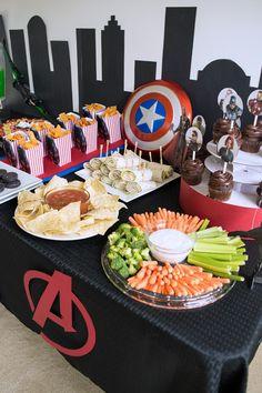 Avengers Party Ideas for the little Avengers fan.