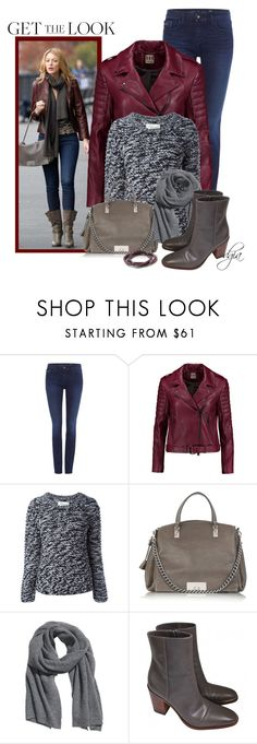 """""""Celine bag and boots"""" by dgia ❤ liked on Polyvore featuring Calvin Klein, Haute Hippie, Public School, CÉLINE, H&M and Banana Republic"""