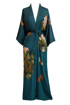 online shopping for Old Shanghai Women's Kimono Robe Long - Watercolor Floral from top store. See new offer for Old Shanghai Women's Kimono Robe Long - Watercolor Floral Moda Hippie, Estilo Hippy, Very Short Dress, Cosplay Dress, Cap Dress, Plus Size Maxi Dresses, Mode Vintage, Look Fashion, Japan Fashion