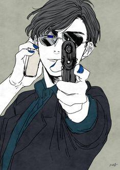 Mafia Karamatsu is the real cool blueberry