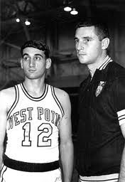 Coack K (Class of 1969) with Coach Bobby Knight at West Point