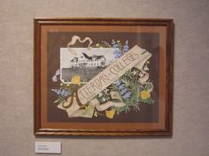 Papercutting,with watercolor and gold leaf. By Rick James Marzullo. Collection of Elverhoj Museum.Solvang CA.