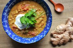 Curried Lentil Soup with Yogurt Recipe on Yummly. @yummly #recipe