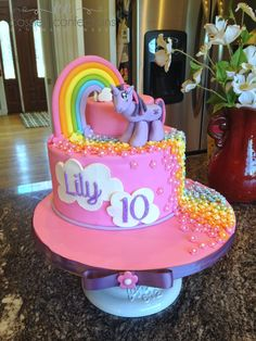 My Little Pony Cake @ Cassie's Confections