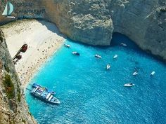 Post with 62 views. Smugglers Cove - Zante, Greece (x-post from r/EarthPorn) The Places Youll Go, Places To See, Hidden Beach, Road Trip With Kids, Greece Islands, Catamaran, Shipwreck, Travel And Leisure, Nature
