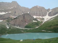 Cracker Lake, Glacier National Park, Montana (pinned by haw-creek.com)
