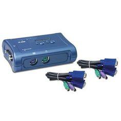 2-Port PS/2 KVM Switch