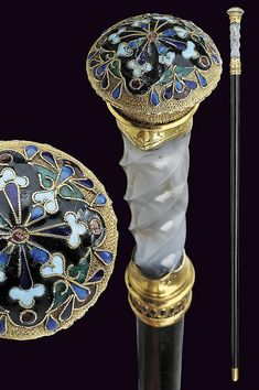 A beautiful stick-dagger by Faberge', dating: circa 1900