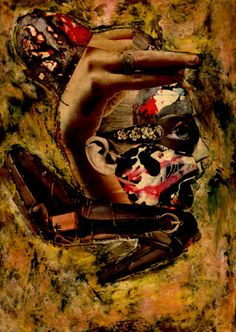 27-TESOROS del COLLAGE.  Pintura Mixta Collage.  Tamaño 30x21 cm.    http://www.artmajeur.com/es/artist/carmenluna/collection/tesoros-del-collage/1229405