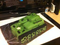 Army Tank Cake  2014                                                       …