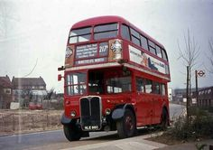 Rt Bus, Routemaster, London Bus, London Transport, Buses, Transportation, Old Things, Classic, Derby