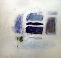 Kit Reuther Blue Study #1151 oil, graphite on canvas 56x60 2012