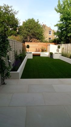 modern white garden design ideas balham and clapham london – Gardening For You - Gartengestaltung Garden Design London, Back Garden Design, London Garden, Modern Garden Design, Backyard Garden Design, Small Backyard Landscaping, Modern Landscaping, Landscaping Ideas, Backyard Ideas