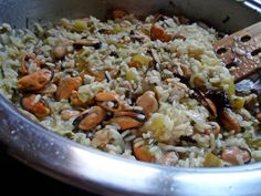 Greek Recipes, Fish And Seafood, Food Processor Recipes, Main Dishes, I Am Awesome, Clean Eating, Food And Drink, Rice, Cooking