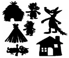 Dinosaur Silhouette, Shadow Theatre, Puppets For Kids, Paper Puppets, Puppet Show, Art Curriculum, Three Little Pigs, Shadow Play, Shadow Puppets