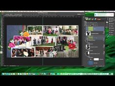 Digital Scrapbook Tutorial - Make the most of your alphas - use blending layers to keep the white lines on your alphas