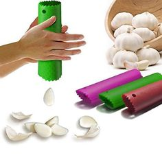 Magic Silicone Peeling Garlic Peeler Helper Useful Kitchen Tool Gadgets Cool -- You can get more details by clicking on the image.