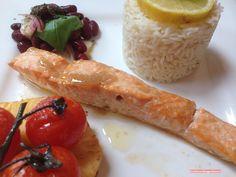 fischi`s cooking and more....: lachs, gegrillt auf der zedernplanke
