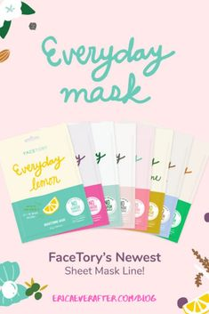 Get the Best Skin of Your Life with the newest Sheet Mask line from Facetory. Gentle sheet masks for all skin types. Love Your Skin, Good Skin, Best Sheet Masks, Beauty Review, Beauty News, Best Blogs, Amai, Diy Face Mask, Face Masks