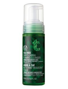 Espuma limpiadora purificante The Body Shop