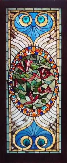 Antique American Stained Glass Windows by melody