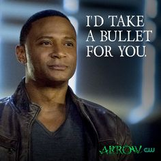 Happy Valentine's Day from John Diggle #Arrow!