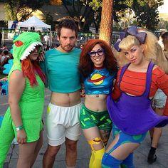 Rugrats group costume #halloween