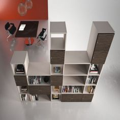 The Titano office storage rangeis offers countless combinations with open and hinged storage units and numerous fantastic finish options.