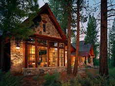 My dream home in the mountains.