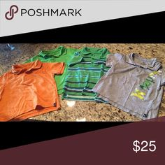 Lot of 4 - Hurley 3t polo shirts Lot of 4 Hurley polo shirts  3t  Check out our other auctions - cleaning out the closet Hurley Shirts & Tops Polos