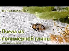 Лепка пчелы из полимерной глины - Ярмарка Мастеров - ручная работа, handmade