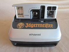 Rare Jägermeister Instant camera Polaroid One 600 Camera-Tested