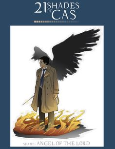 21 Shades of Cas ~ angel of the lord by Sempaiko on deviantART