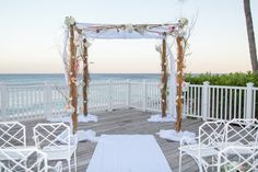 Eco friendly wedding chuppah // Ideas for planning a #green #wedding // found on Modern Jewish Wedding Blog