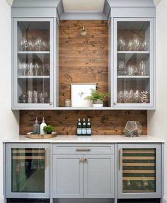 Uplifting Kitchen Remodeling Choosing Your New Kitchen Cabinets Ideas. Delightful Kitchen Remodeling Choosing Your New Kitchen Cabinets Ideas. New Kitchen, Kitchen Dining, Kitchen Decor, Dining Room With Bar, Dining Area, Kitchen Wet Bar, Living Room Bar, Cosy Kitchen, Dining Room Office