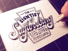 Hand Lettering Projects 2011-2014 on Typography Served