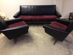 Vintage 1960's sofa lounge set