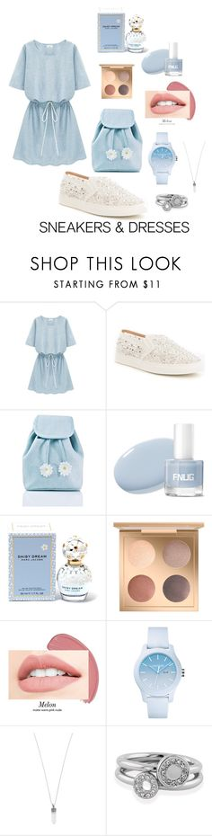 """Daisy Sneakers And Dresses"" by fashionchoice366 ❤ liked on Polyvore featuring Antonio Melani, Sugar Thrillz, Marc Jacobs, Lacoste, Shoreditch and SNEAKERSANDDRESSES"