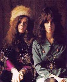 Janis Joplin and Grace Slick - The First Ladies of Rock 'n' Roll