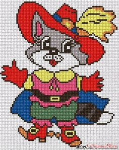 Xmas Cross Stitch, Cross Stitch For Kids, Beaded Cross Stitch, Cross Stitch Baby, Cross Stitching, Cross Stitch Embroidery, Disney Cross Stitch Patterns, Pony Bead Patterns, Cross Stitch Designs