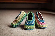Ravelry: Galilee Slippers pattern by Tara Murray