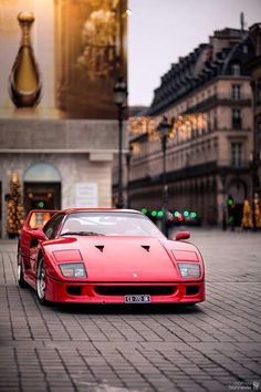 Ferrari F40 by Mathieu Bonnevie