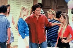 In her first TV interview about her sexual misconduct claims, Nicole Eggert alleged that her Charles in Charge co-star Scott Baio molested her — watch Nicole Eggert, Scott Baio, First Tv, Baywatch, Vintage Models, Funny Babies, How To Do Yoga, Freckles